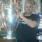 Carlos y la X Copa de Europa Real Madrid